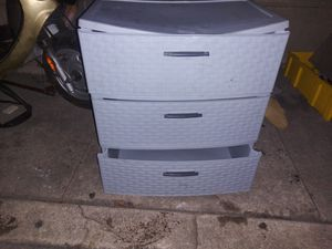 Plastic drawer for Sale in Los Angeles, CA
