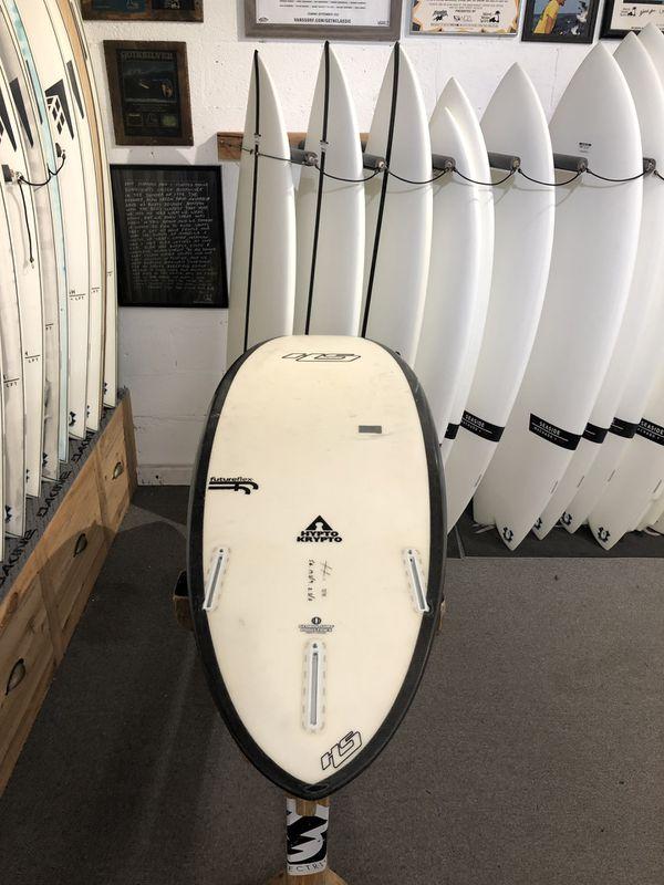"""5'6"""" Hayden Shapes Hypto Krypto Surfboard; Used"""