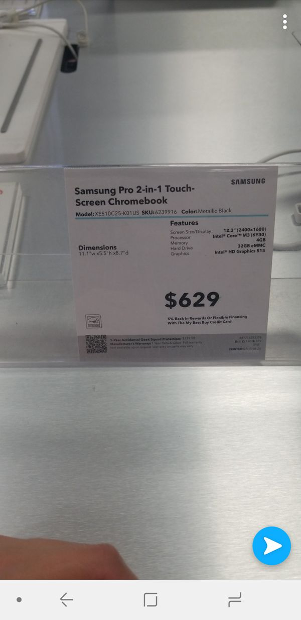 Samsung - Chromebook Pro 2-in-1 for Sale in Las Vegas, NV - OfferUp