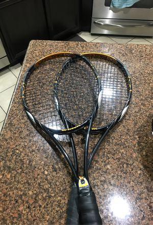 Wilson K Blade 98 Tennis Rackets for Sale in Buena Park, CA