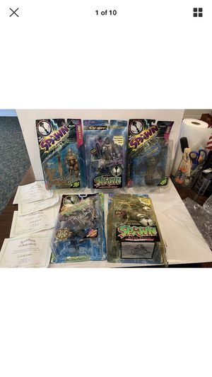 Spawn Comic Action Figure collection! All Signed by Creator Todd McFarlane! From 1996 Spawn Tour! New Movie coming soon! for Sale in Cypress, TX