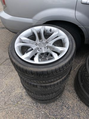Audi wheels and tires for Sale in Boston, MA