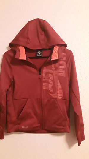 NIKE ZIP UP JACKET KIDS SIZE MEDIUM for Sale in Lacey, WA