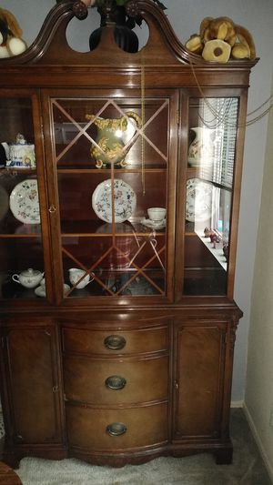 Antique China hutch for Sale in Happy Valley, OR