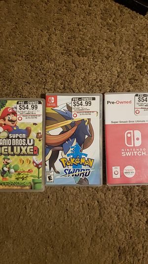 Nintendo Switch games for Sale in Santee, CA