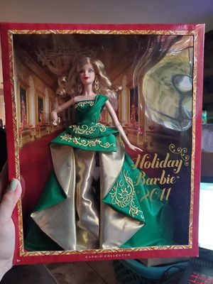 2011 holiday barbie for Sale in Gig Harbor, WA
