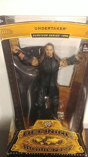 Undertaker survivor series 1996 Defining Moments Action Figure for Sale in Hudson, FL