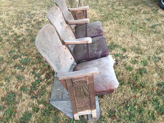 Old theater seats for Sale in Elma,  WA
