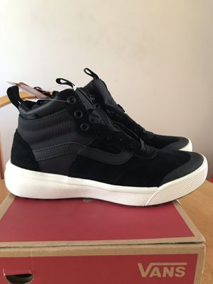 Brand new vans ultra range hi high Black shoes (men's 6.5, youth 6.5y, women's 8) for Sale in La Mesa, CA