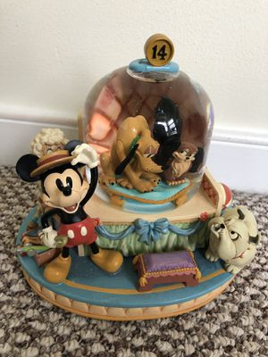 Disney Mickey Mouse and Pluto Snowglobe for Sale in Washington, DC