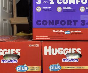 186 Ct Size 4 Diapers for Sale in Kent,  WA