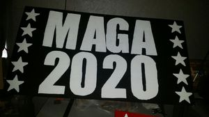 Large MAGA 2020 Sign. for Sale in Wichita, KS