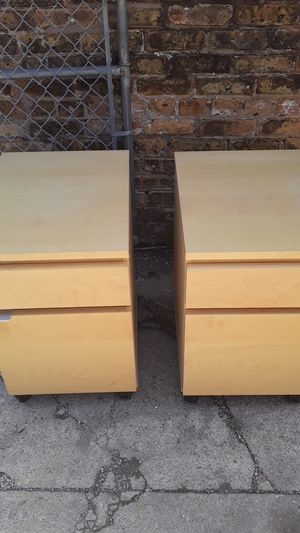 Wooden office/filing cabinets for Sale in Chicago, IL