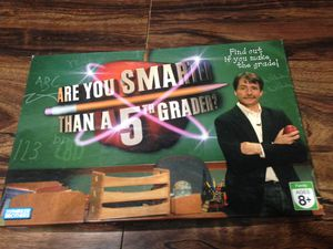Are you smarter than a 5th grader board game for Sale in Taylorsville, UT