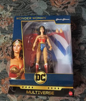 DC Multiverse Wonder Woman Lynda Carter figure for Sale in Fresno, CA