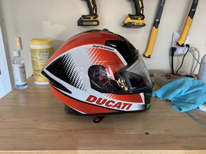 Ducati Helmet with drop down visor for Sale in Concord, NC