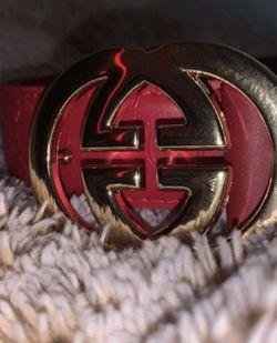 men's red belt for Sale in Acworth,  GA