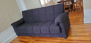 Black bed sofa/ couch for Sale in Stoneham, MA