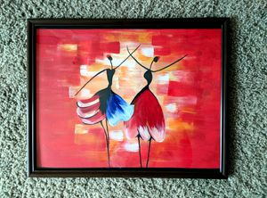 New Hand painted wall art beauty dancer home decoration modern abstract painting for Sale in Columbus, OH