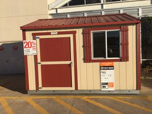(576) Tuff Shed TR700 10x12 was $3,797 now $3,038 for Sale in Humble, TX