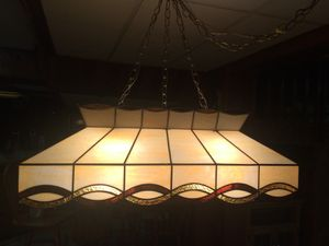 Pool table light for Sale in Freehold, NJ