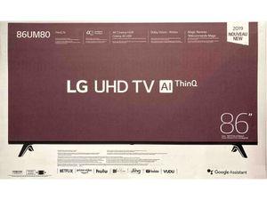 "LG 86"" Class 4K UHD 2160P Smart TV (86UM8070AUB) for Sale in Gastonia, NC"