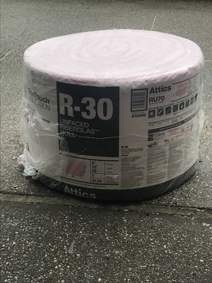 Unfaced Fiberglas Roll for Sale in The Bronx, NY