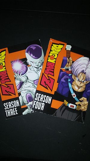 Dragon Ball Z season 3 n 4 for Sale in Cleveland, OH