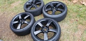 4 18 in 5x114.3 wheels rims tires. for Sale in Rockville, MD