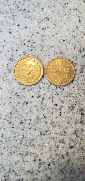 No cash value tokens for Sale in Springfield, MA