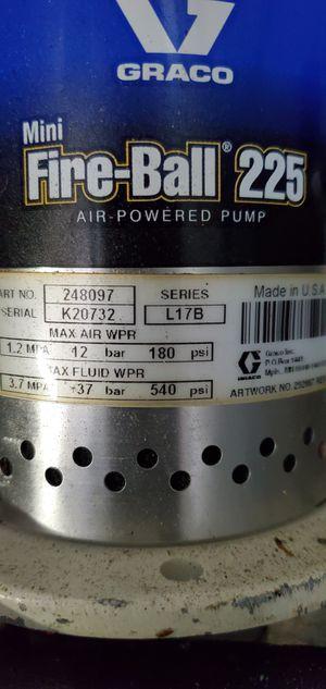Graco fireball 225 pump for Sale in Alexandria, VA