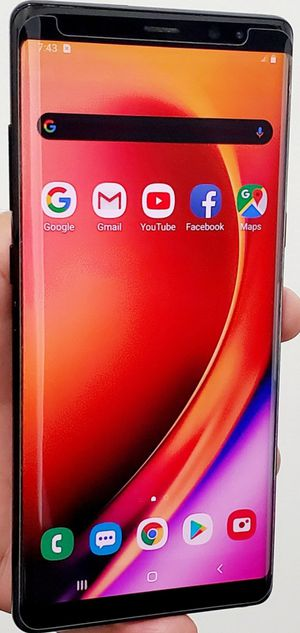 UNLOCKED SAMSUNG GALAXY NOTE 8 64GB GOOD CONDITION WITH ACCESSORIES TMOBILE ATT VERIZON METRO CRICKET ALSO WORKS IN EVERY COUNTRY for Sale in Atlanta, GA