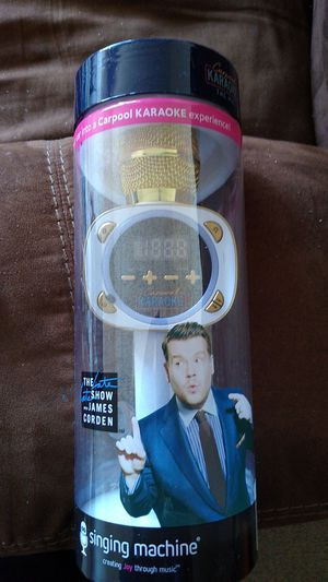 Carpool karaoke microphone (new) for Sale in Lowell, MA