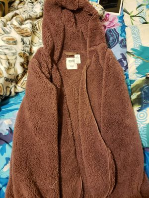 Pink Victoria Secret Sherpa Cardigan for Sale in Fresno, CA