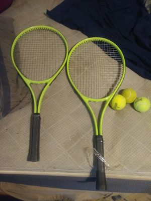 Tennis rackets and balls bag sold separately for Sale in Baltimore, MD
