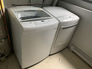 Lg smart washer and dryer for Sale in Anchorage, AK