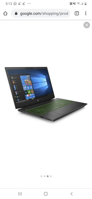 Hp Gaming Laptop 15 for Sale in Houston, TX