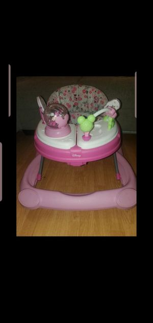 Disney minnie mouse lights and sounds baby Walker for Sale in Los Angeles, CA