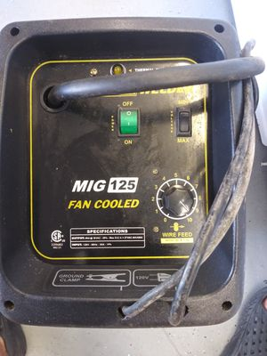 Fluxcore Welder MIG 125 for Sale in Dundee, FL