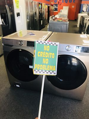 Samsung Rose Gold Front Load Washer & Dryer Set ✨ Discount: JUANA for Sale in Fontana, CA
