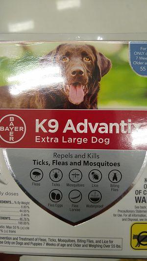 Small medium and large dog k9 advantix for Sale for sale  Santa Rosa, CA