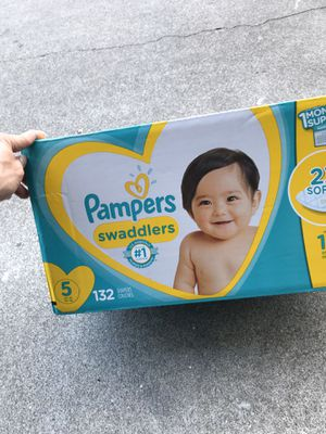 Pampers size 5 swaddler brand new for Sale in San Mateo, CA