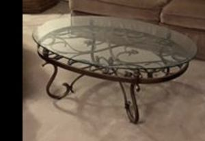 Beveled glass coffee table for Sale in Arlington, TX