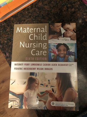 Maternal child nursing care 6th edition for Sale in Fairmont, WV