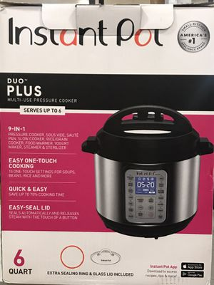 *Brand New* Instant Pot Duo Plus 9 in 1 (AKA INSTAPOT) for Sale in Anaheim, CA