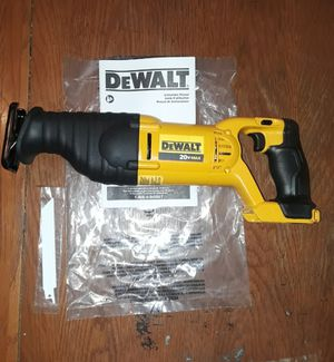 DeWalt sawzall 20V for Sale in Artesia, CA
