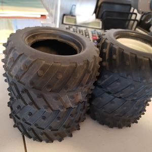 New set of tires and rims for rc truck for Sale in East Wenatchee, WA
