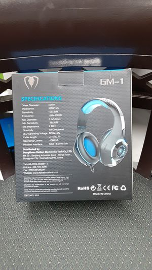Newest item PS4 Pro gaming headset for Sale in Las Vegas, NV