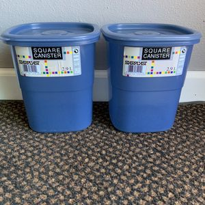 New Starplast Square Canister Sets for Sale in Avon, OH