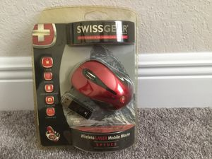 Swiss gear wireless laser mouse for Sale in Dundee, FL